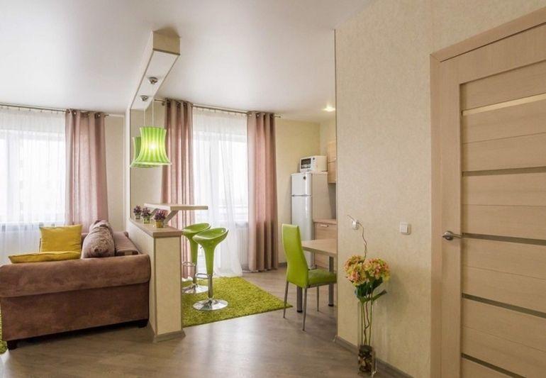 Фото 1-комнатная квартира в Минске на Репина ул. 4